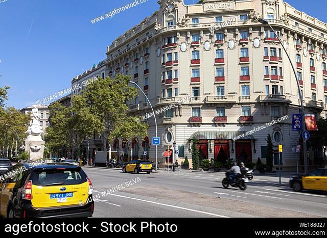 Hotel El Palace, Gran Via de les Corts Catalanes, Barcelona, Spain
