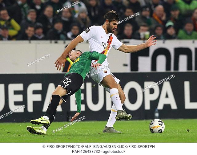 firo: 07.11.2019, football, UEFA EUROPA LEAGUE, EL, season 2019/2020, Borussia Monchengladbach, Gladbach - AS Rome 2: 1 FAZIO