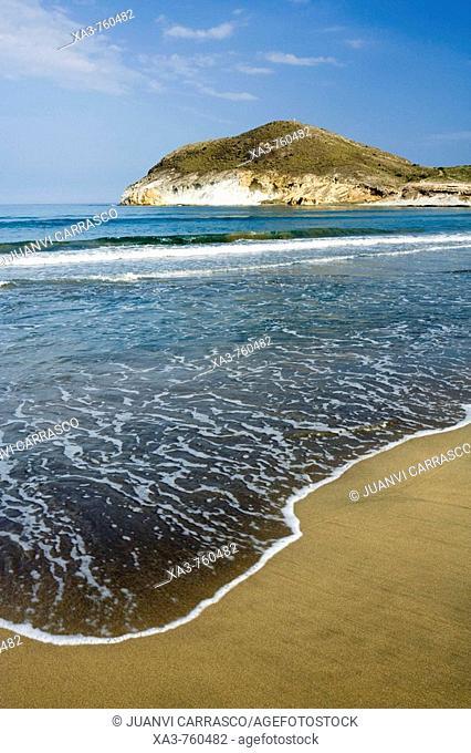 Los Genoveses beach. Cabo de Gata-Nijar Biosphere Reserve, Almeria province, Andalucia, Spain