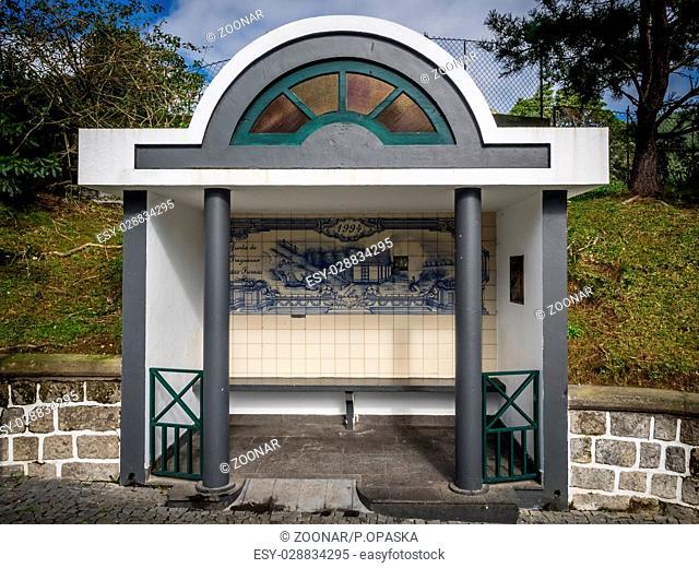 Bus Stop in Furnas