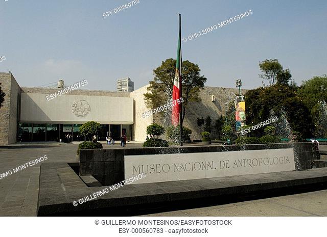 Museo Nacional de Antropilogia e Historia Chapultepec Ciudad de Mexico