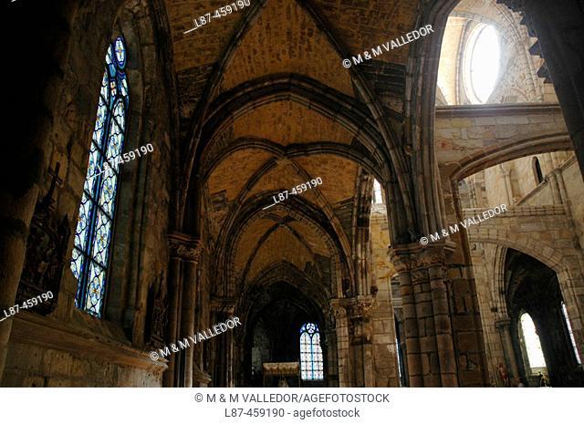 Nuestra Señora de la Asunción Gothic church (XIII-XV). Castro Urdiales. Cantabria. Spain