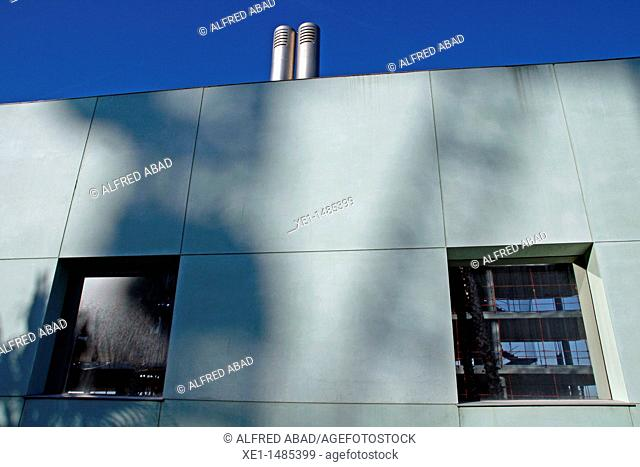 vents, windows, W Hotel, arq Ricardo Bofill, Barcelona, Catalonia, Spain