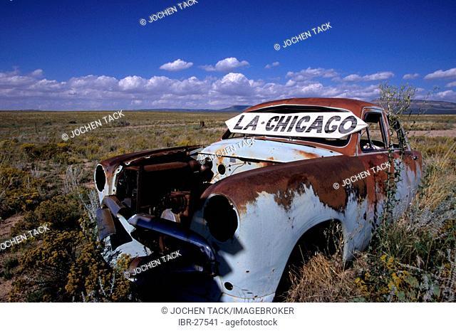USA, United States of America, Arizona: Historic Route 66, near Truxton