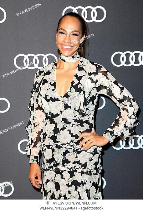 Audi Celebrates The 69th Emmys - Arrivals Featuring: Amanda Brugel Where: Hollywood, California, United States When: 14 Sep 2017 Credit: FayesVision/WENN