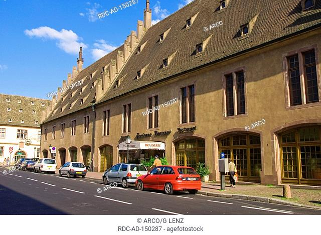 Old Toll House Strasbourg Alsace France Ancienne Douane
