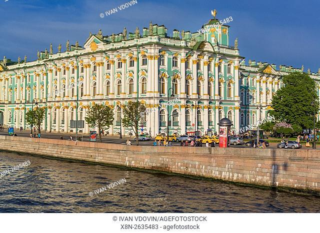 Winter Palace, State Hermitage Museum, Saint Petersburg, Russia