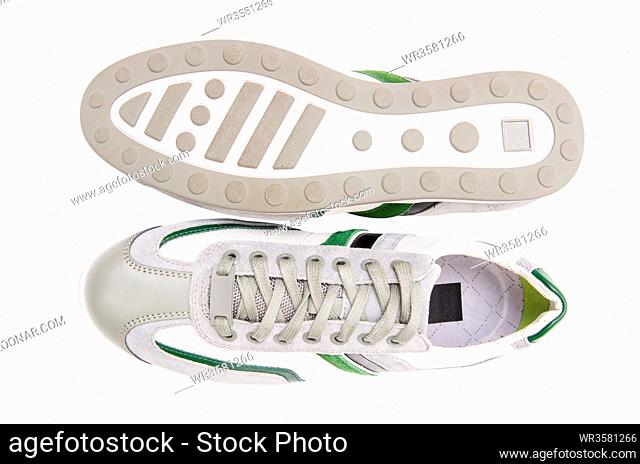 Sporty shows isolated on white background