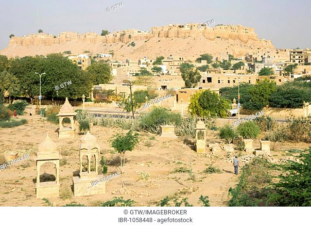 Jaisalmer Fort, Thar Desert, Rajasthan, India, South Asia, South Asia