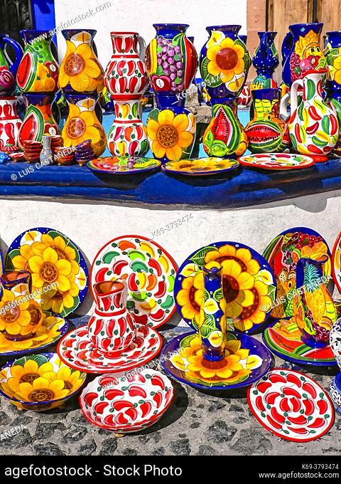 Pottery. Taxco. Mexico