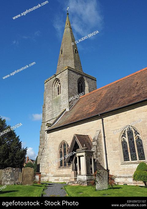 Parish Church of St Mary Magdalene in Tanworth in Arden, UK