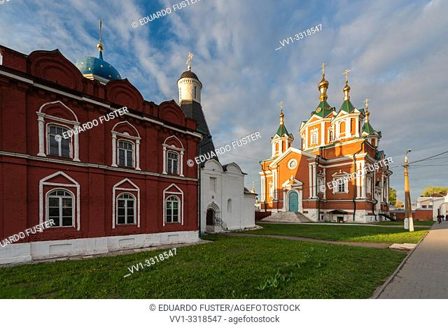 Cathedral of the Exaltation of the Holy Cross, Kremlin of Kolomna, Region of Moscow, Russia