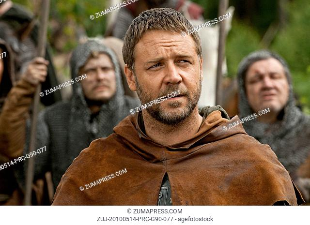 RELEASE DATE: May 14, 2010  MOVIE TITLE: Robin Hood  STUDIO: Universal Pictures  DIRECTOR: Ridley Scott  PLOT: The story of an archer in the army of Richard...