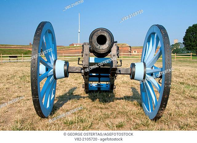 Cannon, Fort McHenry National Monument and Historic Shrine, Maryland