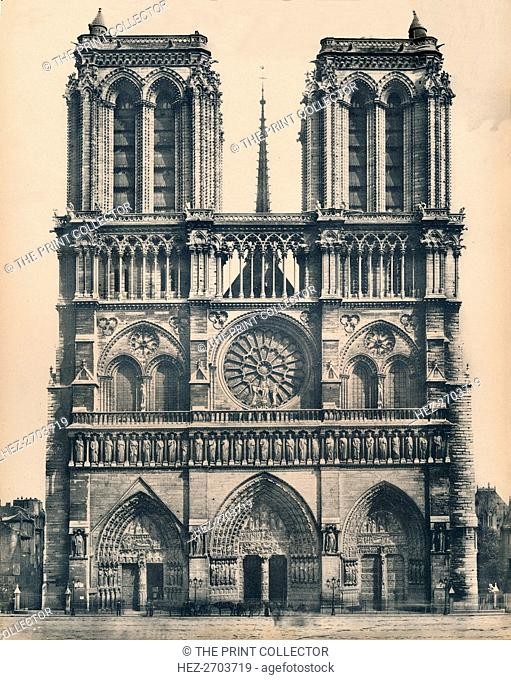'Paris. - Notre-Dame. - LL, c1910. Creator: Unknown