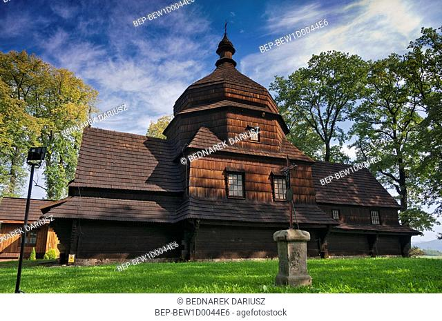 Wooden Greek Catholic Church of the Transfiguration of the Lord in Czertez, Subcarpathian Voivodship, Poland