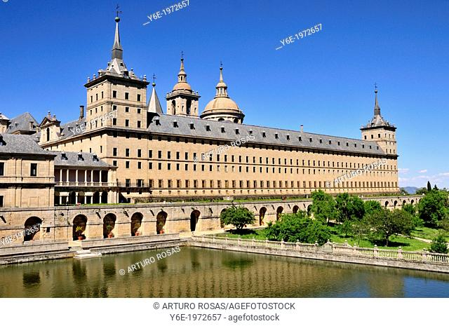 Monastery. San Lorenzo de El Escorial, Madrid. Spain