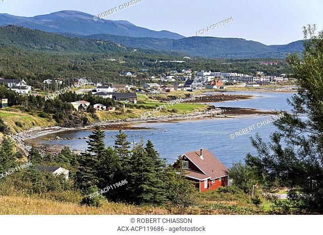 Northern end of Rocky Harbour along the Bear Cove shore, Bonne Bay, Newfoundland, Canada