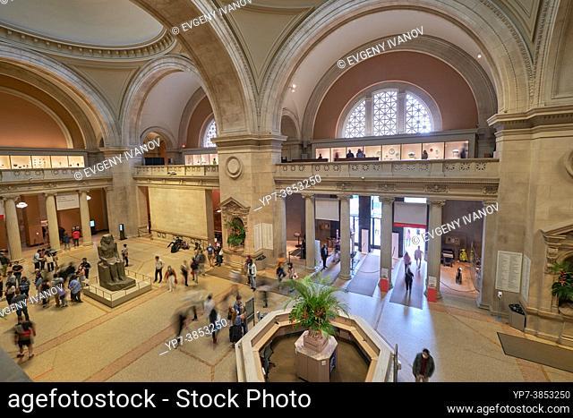 The Metropolitan Museum of Art Great Hall interior