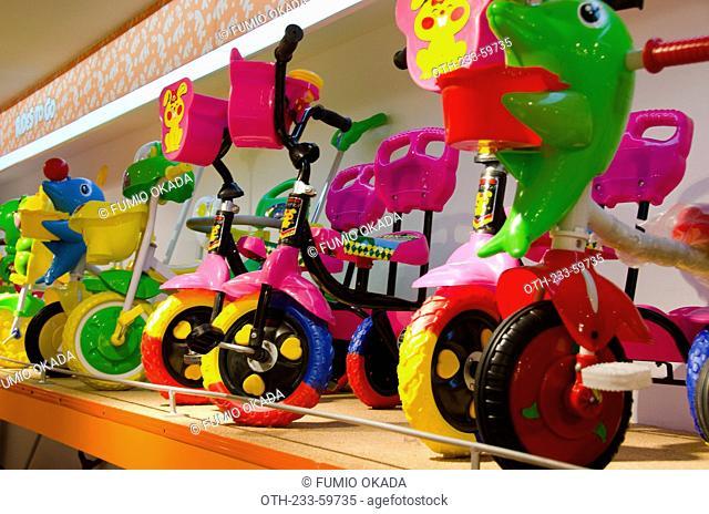 Toys corner in Shoemart shopping mall, Makati, Philippines