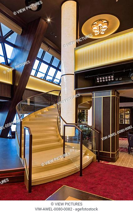 The Genting Dream is a very high spec luxury cruise ship for the Chinese market