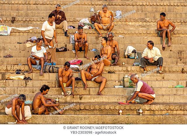The Ghats, Varanasi, Uttar Pradesh, India