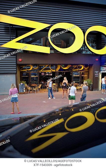Lloret de Mar  Zoo Bar  19, Just Marlés i Vilarrodona Ave  Costa Brava  Girona province  Catalonia  Spain