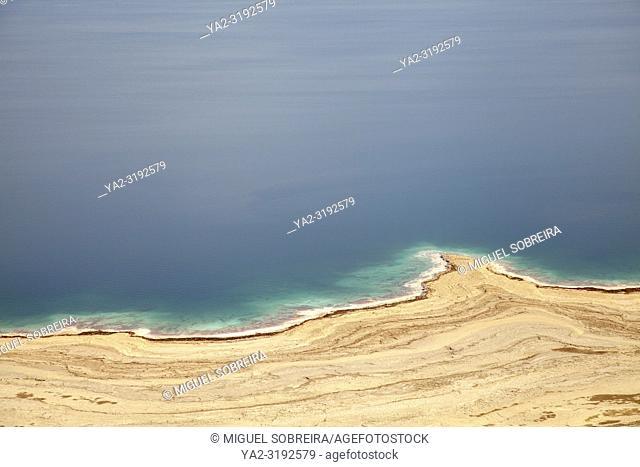 Dead Sea Coastline in Israel