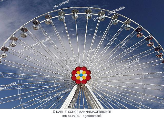 Blumenrad, ferris wheel, Vienna Prater or Wurstelprater, Vienna, Austria