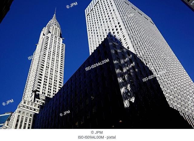 Chrysler Building low angle, New York, USA