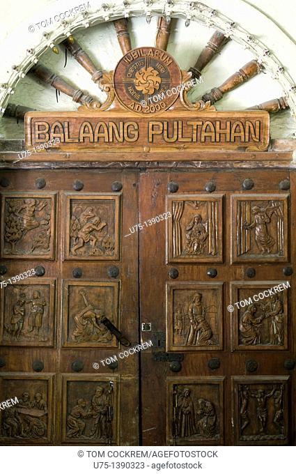 st michael archangel church, argao, cebu, philippines