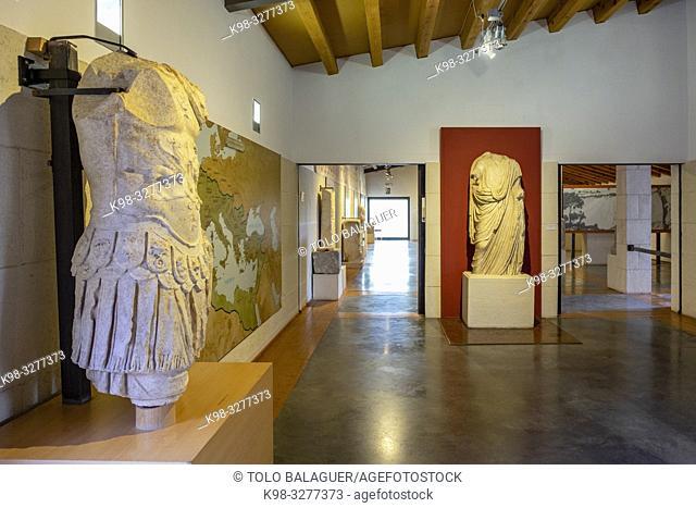 Museo-Centro de Interpretación del parque arqueológico de Segóbriga, Saelices, Cuenca, Castilla-La Mancha, Spain