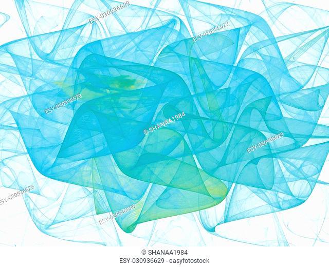 background fractal shape