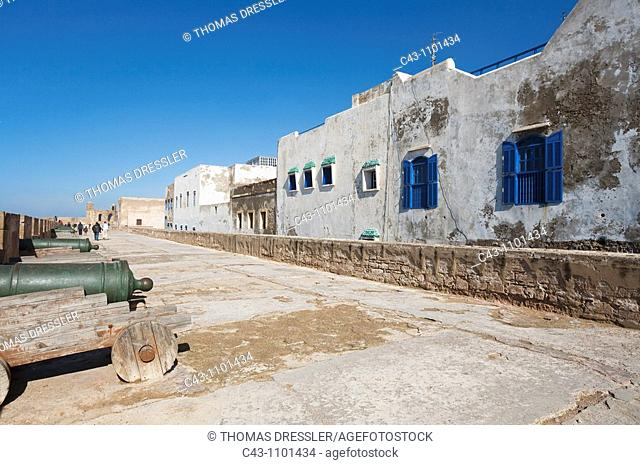 Morocco - The Skala de la Ville, the great sea bastion of Essaouira with its collection of European cannons  Essaouira probably is Morocco's most attractive...