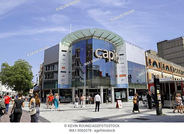 Capital Shopping centre in Cardiff Wales UK