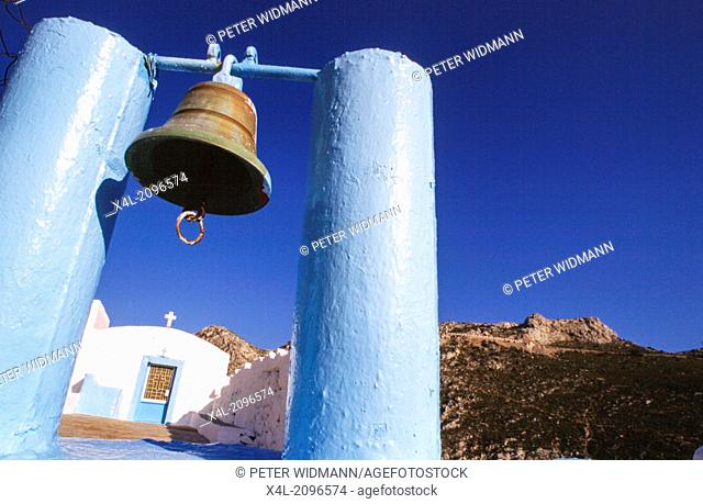 bell, Greece, Dodekanes, Leros