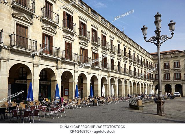 Terrazas De La Plaza De España Stock Photos And Images