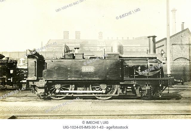 Locomotive no 1410: 2-4-0 engine