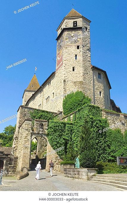 Rapperswil, Sankt Gallen, Schweiz Schloss