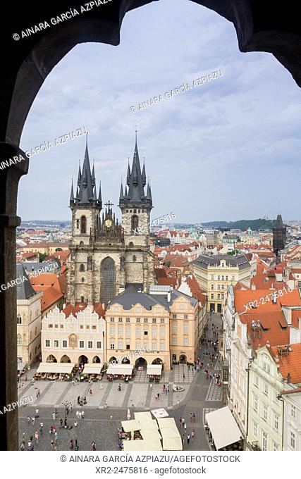 Tyn church, Old Town Square, Praha, Czech Republic