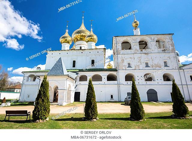 Russia, Uglich, orthodox church, ancient, Voskresenskiy Monastery, Resurrection Monastery