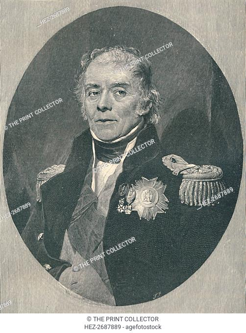 'Henri-Gratien, Count Bertrand', c1850, (1896). Artist: T Johnson