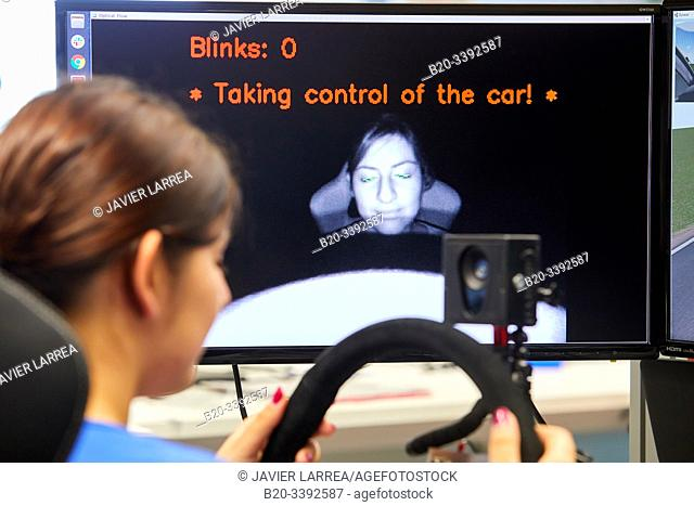 Automated video driving with sleepiness, Automotive Industry, Technology Centre, Tecnalia Research & Innovation, Derio, Bizkaia, Basque Country, Spain