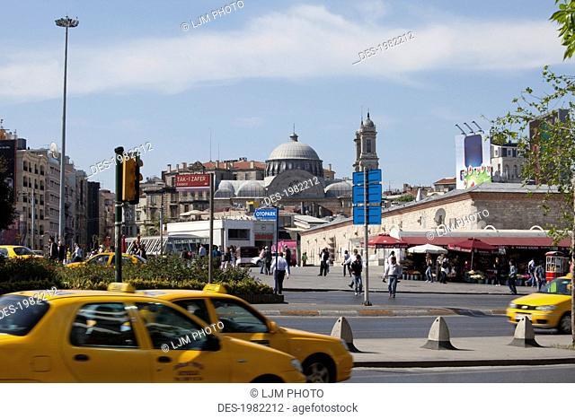 taksim square, istanbul turkey