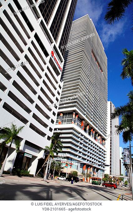 Buildings Downtown Miami, Florida, USA