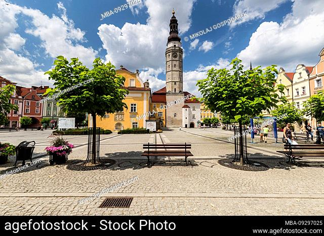 Europe, Poland, Lower Silesia, Boleslawiec / Bunzlau