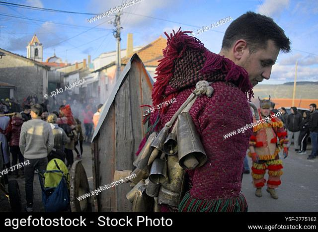 The Entrudo (or Shrovetide) festivities at Vila Boa (small village in Porgugal's Trás-Os-Montes region), a traditional carnival celebration that dates back to...