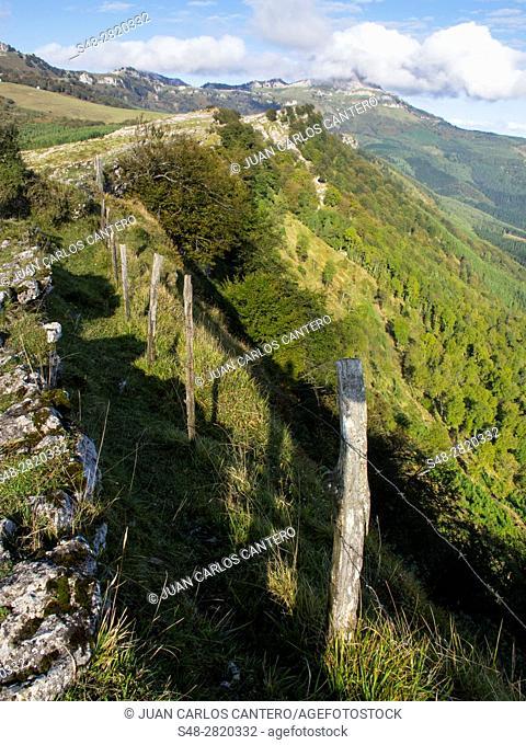 Parque Natural de Gorbea. Vizcaya. Pais Vasco. España. Europa