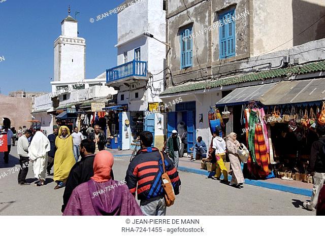 Medina, Essaouira, historic Mogador, Morocco, North Africa, Africa
