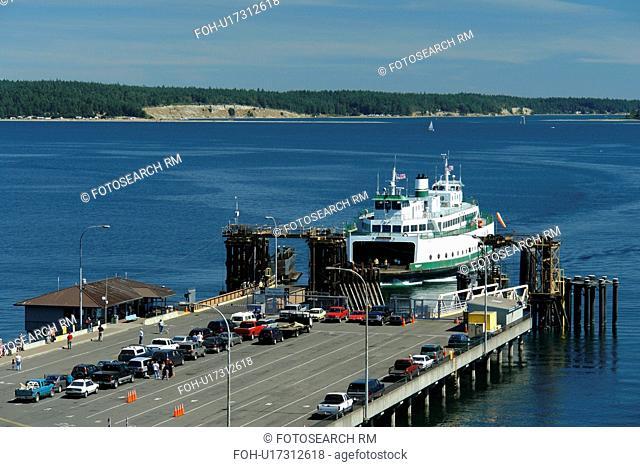Port Townsend, WA, Washington, Puget Sound, Olympic Peninsula, ferry landing
